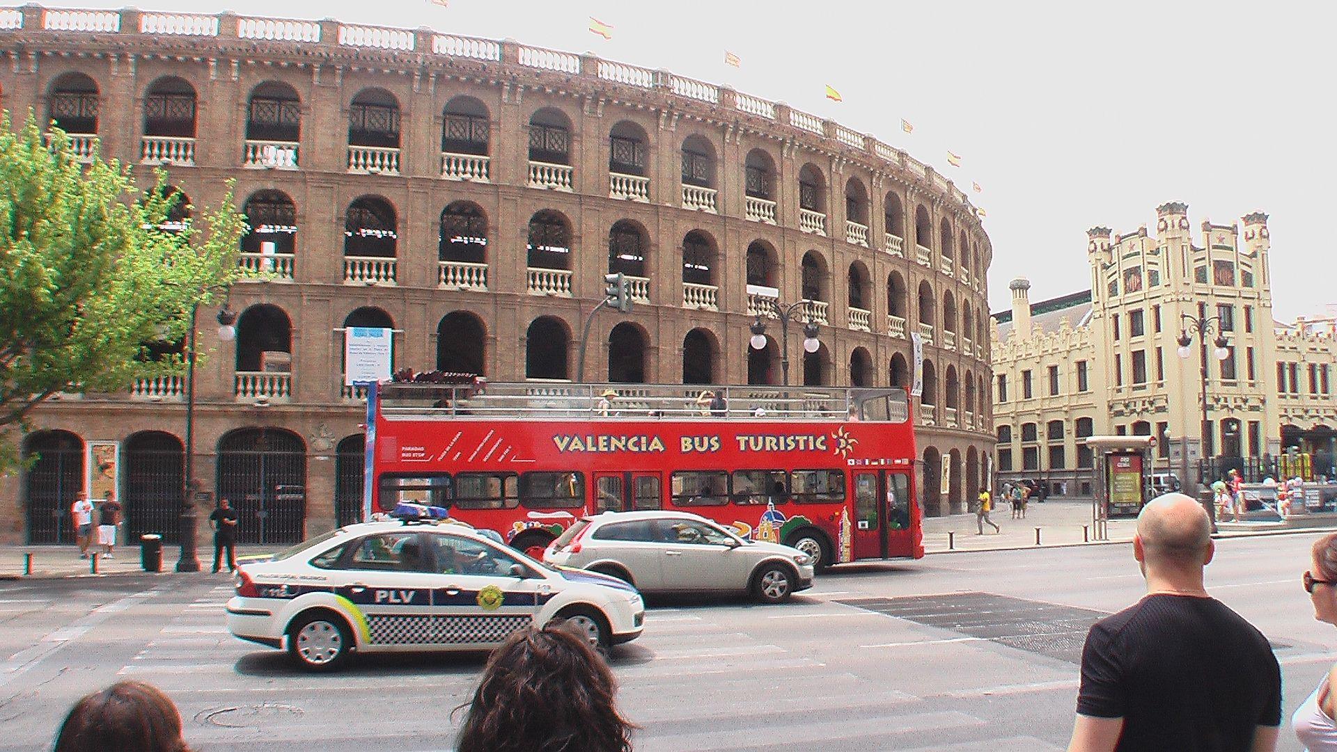 Fotos 360 Plaza de toros #VidePan por #Valencia