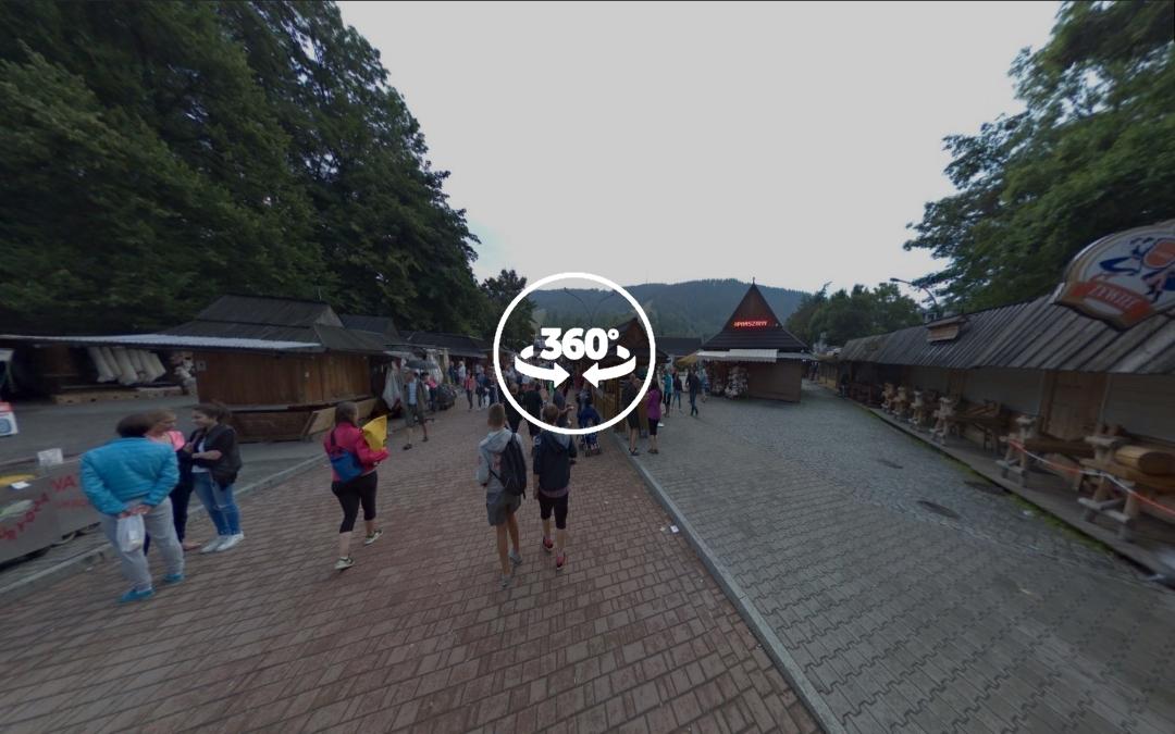 Foto 360 Targ Pod Gubalowka de Zakopane. VidePan en Polonia
