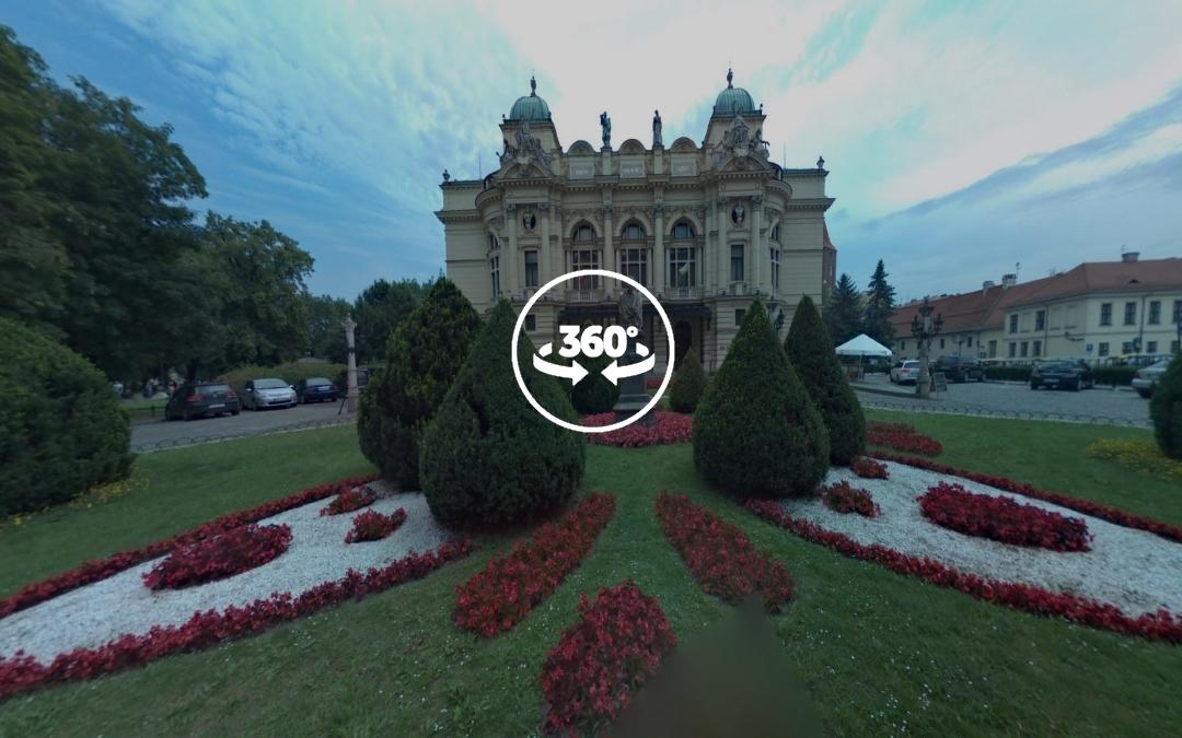 Foto 360 Teatro Juliusz Slowacki de Cracovia. VidePan en Polonia