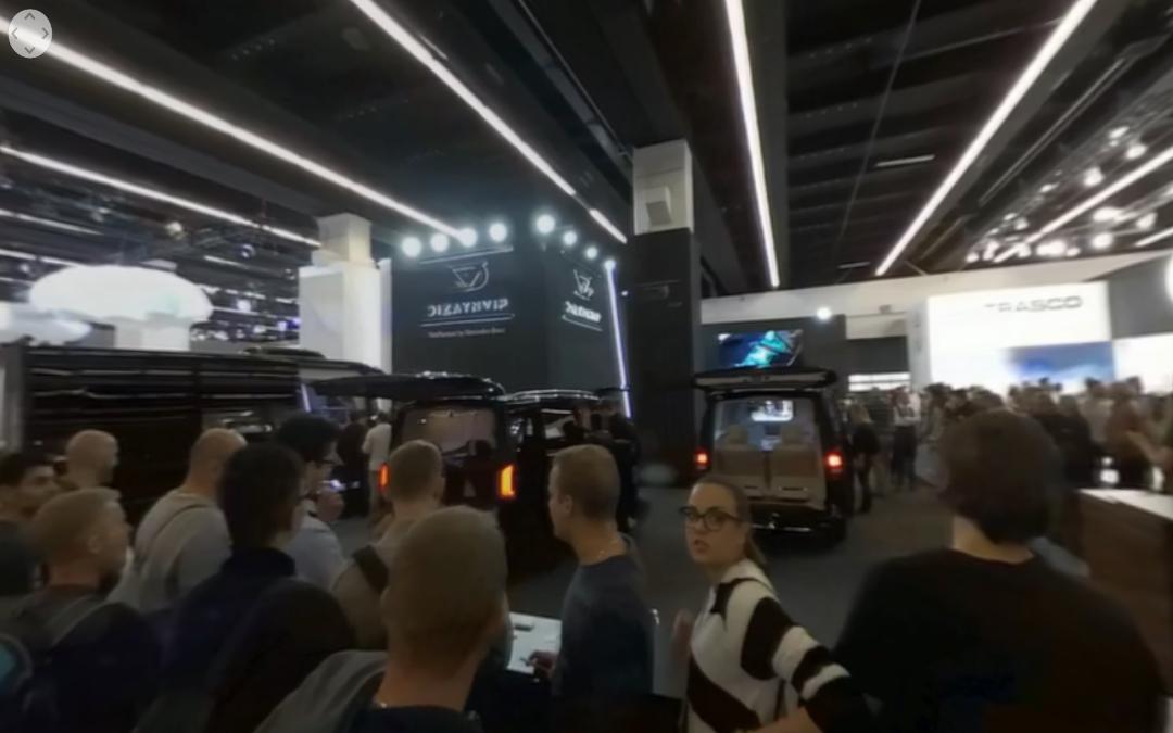 Vídeo 360 Dizayn VIP en el IAA 2017