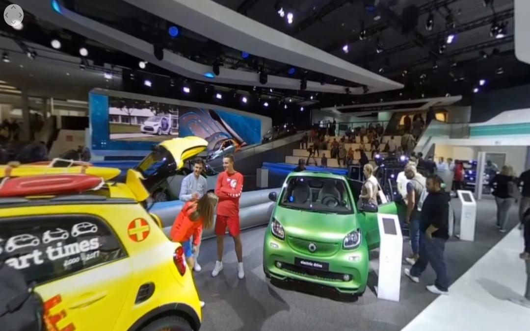Vídeo 360 Mercedes-Benz Vision Tokyo Concept y Stand de Smart en el IAA 2017