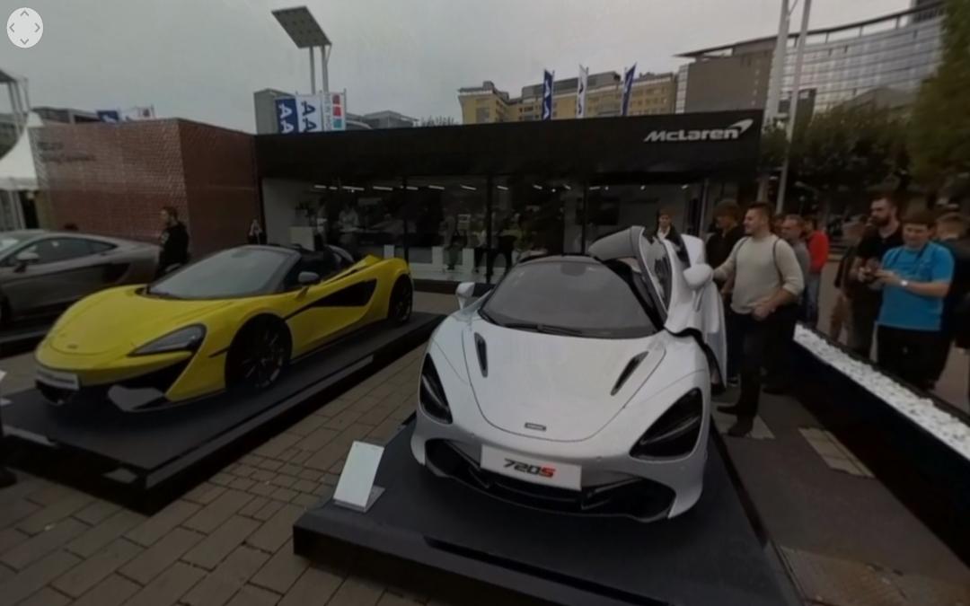 Vídeo 360 Stand de McLaren en el IAA 2017