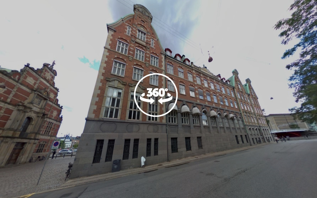 Foto 360 Christian IV's gamle børssa. VidePan en Copenhague