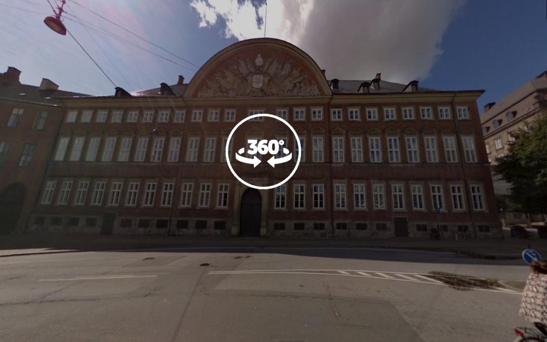 Foto 360 Finansministeriet. VidePan en Copenhague
