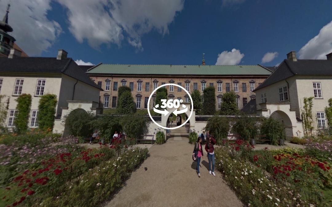 Foto 360 Funder Bibliotekshaven. VidePan en Copenhague