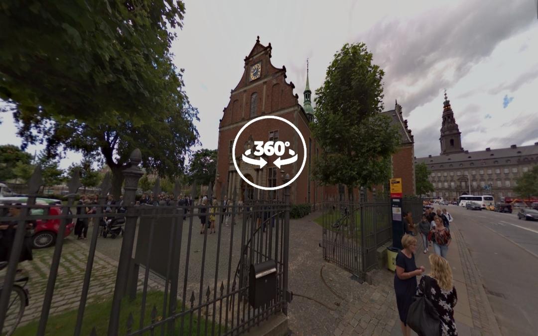 Foto 360 Iglesia de Holmen (Holmens Kirke). VidePan en Copenhague