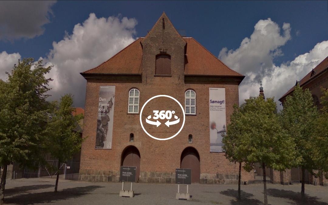 Foto 360 Tøjhusmuseet. VidePan en Copenhague