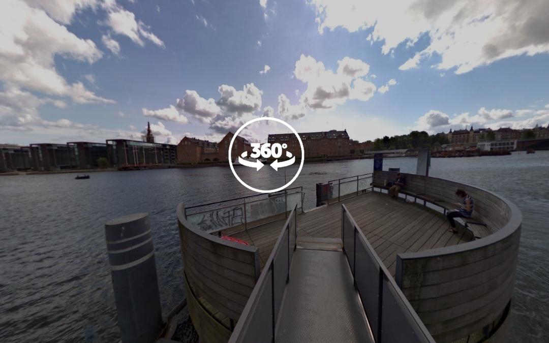Foto 360 Terminal de Ferry Det Kongelige Bibliotek. VidePan en Copenhague